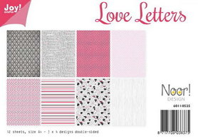Joy! papierset Love letters 6011/0525