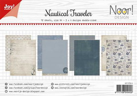 Joy! papierset Nautical Traveller 6011/0644
