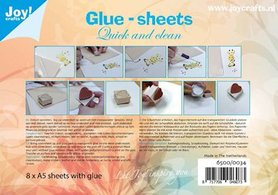 Joy! glue-sheets A5 (8 vel) 6500/0034