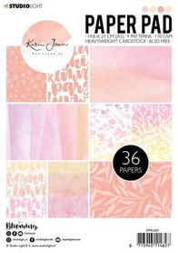 Studio Light Paper pad Karin Joan Blooming Collection nr.02  A5