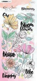 Studio Light Rub on Sticker Karin Joan Blooming Coll. nr.01