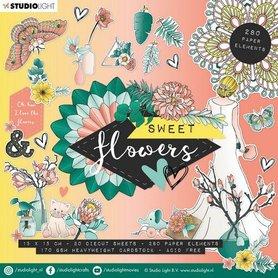 Studio Light Die Cut Book 15x15 Sweet Flowers nr.660