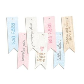 Piatek13 - Decorative tags Baby Joy 02