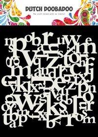 Dutch Doobadoo Dutch Mask Art 15x15cm Letters