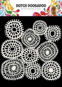 Dutch Doobadoo Dutch Mask Art 15x15cm lijnen cirkels