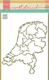 Marianne Design Craft Stencil Nederland PS8059