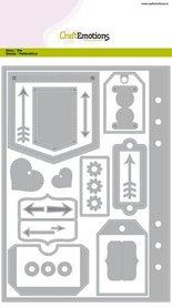 CraftEmotions Die - Planner essentials 1 Card A5