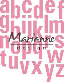 Marianne Design collectable alfabet XXL COL1449
