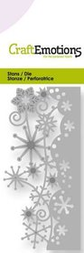 CraftEmotions Die - kristallen ornament rand