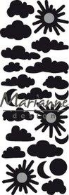 Marianne D Craftable punch die wolkjes CR1459