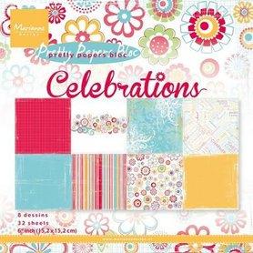 Marianne Design Paper pad Celebrations PK9131