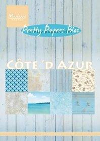 Marianne Design Paper pad Cote d'Azur PK9146 15x21 cm