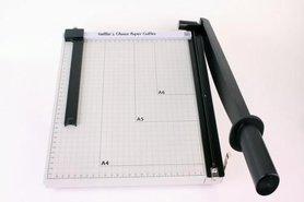 Nellie's Choice XL metalen papier snijder met schuif 30cm