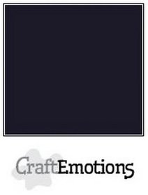 CraftEmotions karton gladkarton zwart 30,0 x 30,0cm