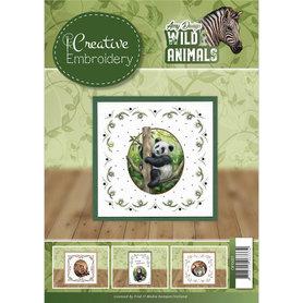 Amy Design creative embroidery 1 - wild animals 2