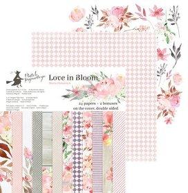 Piatek13 - Paper pad Love in Bloom  30.5 x 30.5 cm