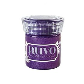 Nuvo glimmer paste - amythyst purple