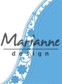 Marianne Design Creatable Anja's flower wave LR0518