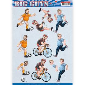 3D knipvel - Yvonne Creations- Big Guys - Sports