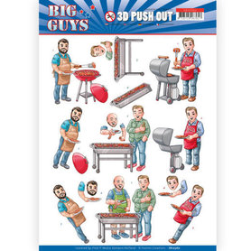 3D pushout - Yvonne Creations- Big Guys - Backyard BBQ
