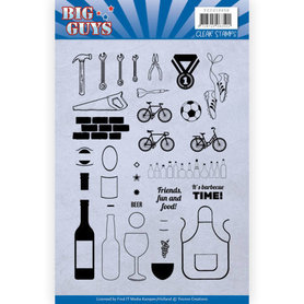 Clear Stamps - Yvonne Creations - Big Guys