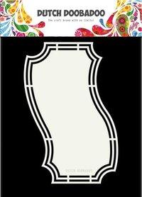 Dutch Doobadoo Dutch Shape Art Bookmark 3 A5