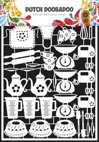 Dutch Doobadoo Dutch Paper Art bakken - A5
