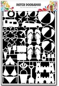 Dutch Doobadoo Dutch Paper Art vakantie A5