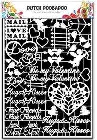 Dutch Doobadoo Dutch Paper Art Valentijn - A5
