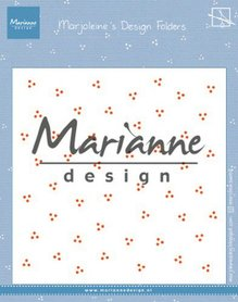 Marianne Design Embossing folder Marjoleine's dots DF3455