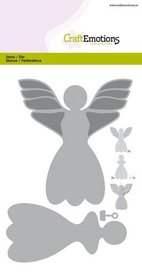 CraftEmotions Die - engel decoratie 3D