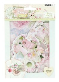 Studio Light Die Cut Paper Set Lovely Moments nr 654
