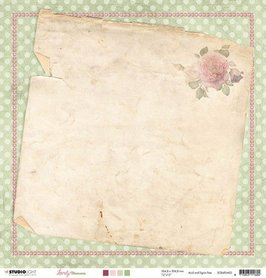 Studio Light Scrappapier 10 vel 30,5x30,5 Lovely Moments nr 03