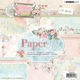 Studio Light Paper pad 36 vel Lovely Moments nr 124