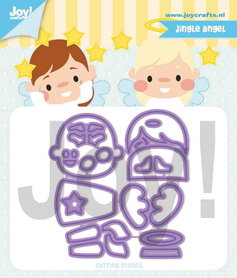 Joy! stencil Jocelijne Jingle angel 60021327
