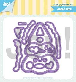 Joy! stencil Jocelijne Jingle tree 6002/1328