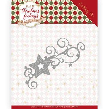 Dies - Precious Marieke - Warm Christmas Feelings - Christmas Swirls