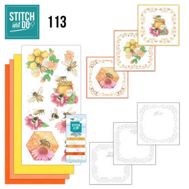 Stitch and Do 113 Honey Bees