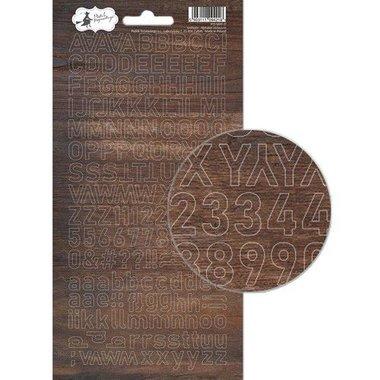 Piatek13 - Alphabet sticker sheet Soulmate 01