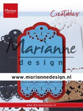Marianne Design Creatable Brocante label LR0616