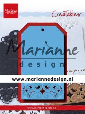 Marianne Design Creatable Classic label LR0617