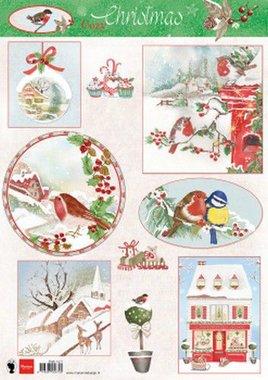 Marianne Design Knipvellen Cozy Christmas EWK1271