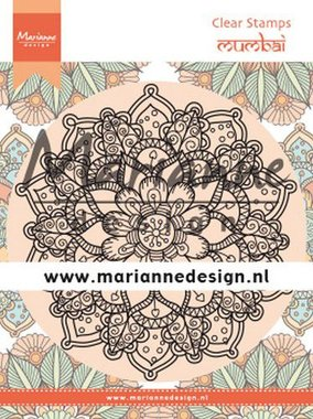 Marianne Design Clear Stamps Mandala Mumbai CS1034