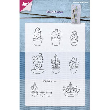 Clearstempel Joy! Crafts Mery's cactus 6410/0403