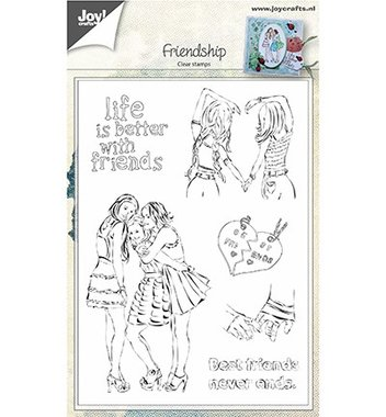 Clearstempel Joy! Crafts Vriendschap 6410/0450