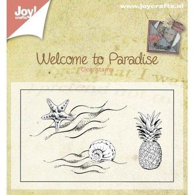 Clearstempel Joy! Crafts Ananas + Schelpen 6410/0397
