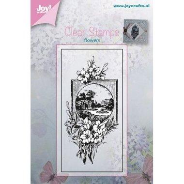 Clearstempel Joy! Crafts Bloemen 6410/0376