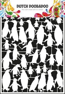 Dutch Doobadoo Paper art Pinquins