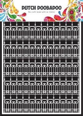 Dutch Doobadoo Paper art Sier hekken