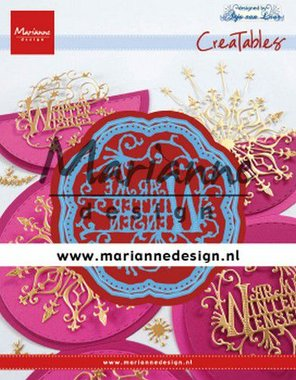 Marianne Design Creatable Anja's Warme Winter Wensen (NL) LR0619